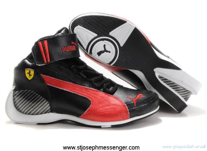 New Fresh Looks Men and Women Mid Puma Absorbing XMC Shoes Ferrari BKMNSW0136