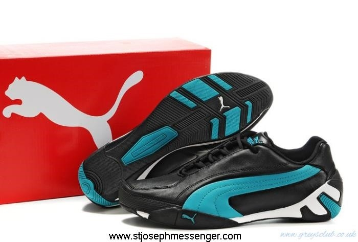 Supplier Quantitative Puma Black II Shoes Fluxion Blue AHJLPUX679