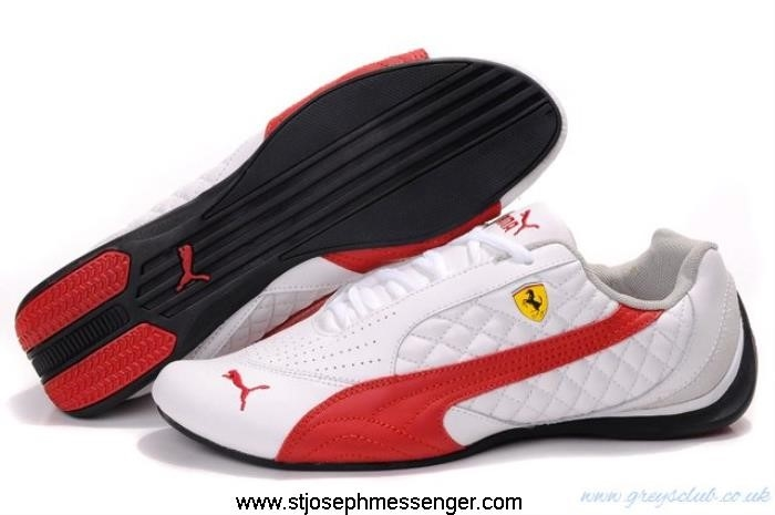 Mode Puma Drift Cat II Shoes Red 696 Works White EFJORW0135