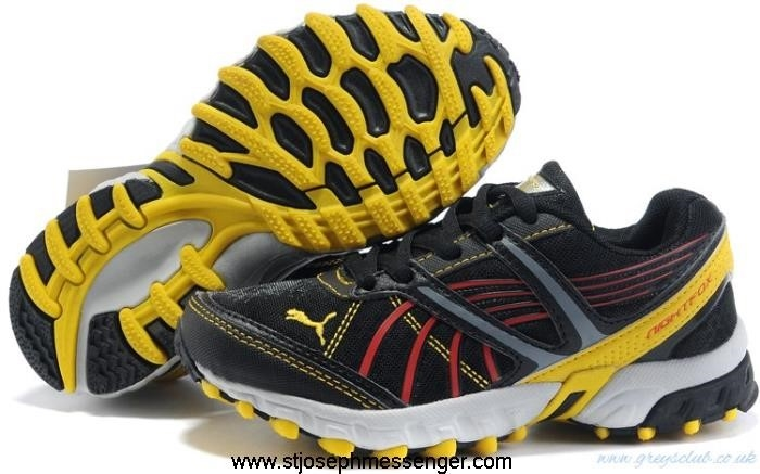 Beautiful And Charming Puma Complete Nightfox Shoes Yellow Auspicious Black Tr AEJKMN0278