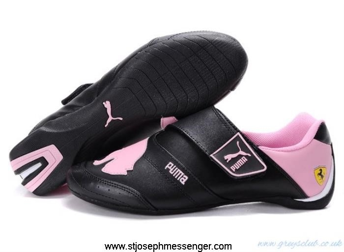 Different Rates Puma Baylee Future Cat II 703 In Black Shoes Pink AGKMOQUX03