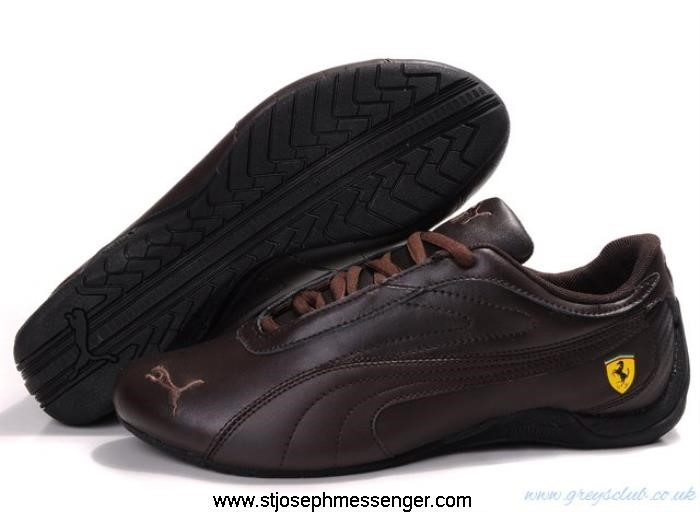 Fresher Puma Brown 827 Shoes Drift Licensed Cat DFLORSX267