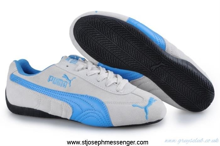 Modern Puma Repli Cat III Womens Suede Blue Responsible White Shoes EFHKNPY567