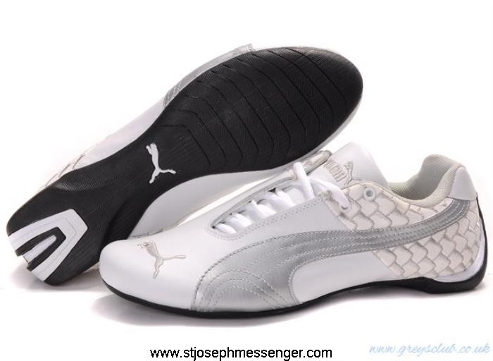 More Fresher Puma Future Shoes 603 Silver White Cat Satisfactorily CFJKMUWZ78