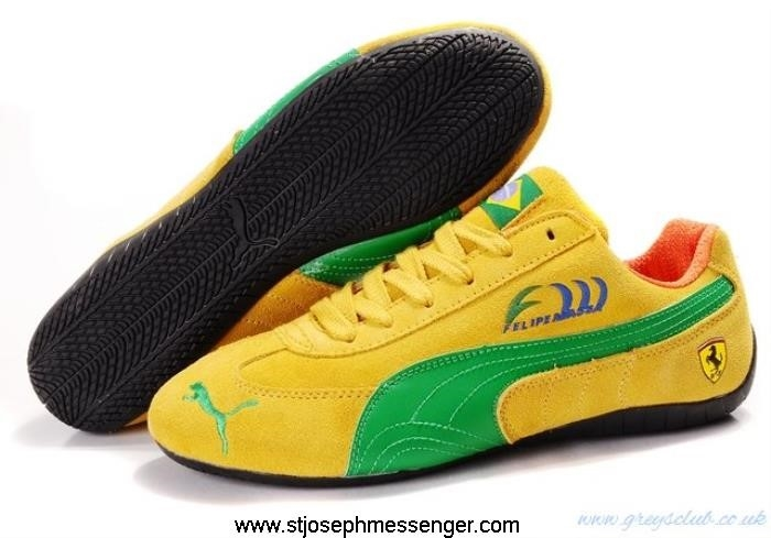 Amazing Bargains Insurance Speed Cat SD Yellow Green Shoes GKLOUX0134