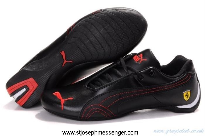 Exquisite Design Puma Drift Creative Cat Black Line Shoes 701 Red CDELMTY014