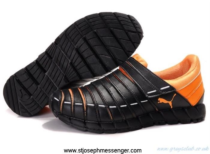 One Level Product Goods Puma Lazy Shoes Black Insect II Orange AIKPQSUV38